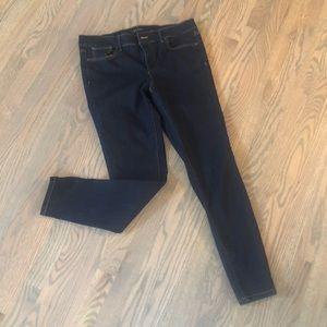 Ann Taylor Dark Wash Skinny Jean